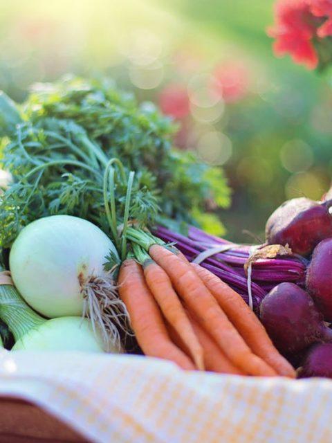 groente in een mand